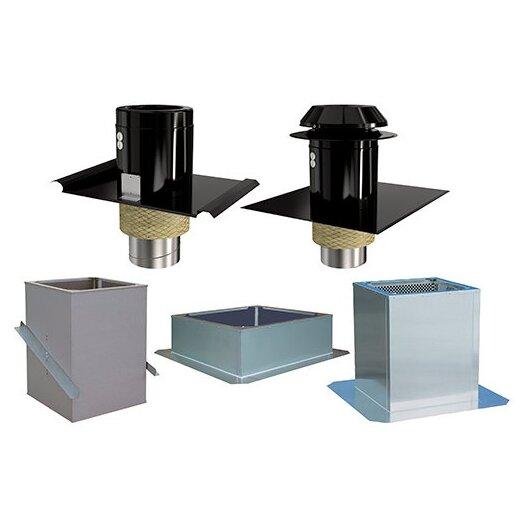 Systemair Dachlüftungshauben und Rahmen