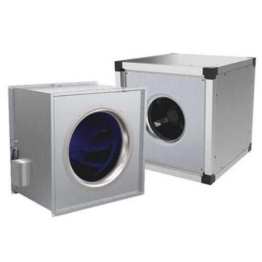 Systemair quadratische AC Kanalventilatoren