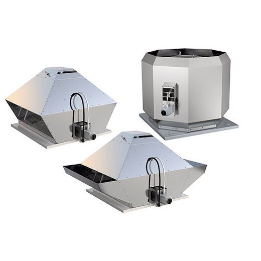 Systemair AC Brandgas Dachventilatoren