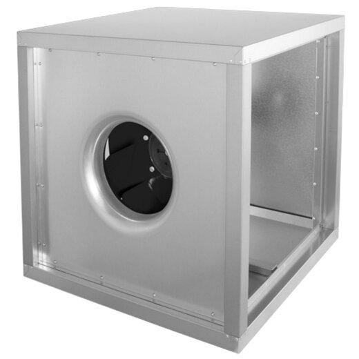 Ruck schallgedämmte AC Abluftboxen