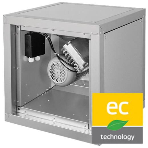 Ruck schallgedämmte EC Abluftboxen