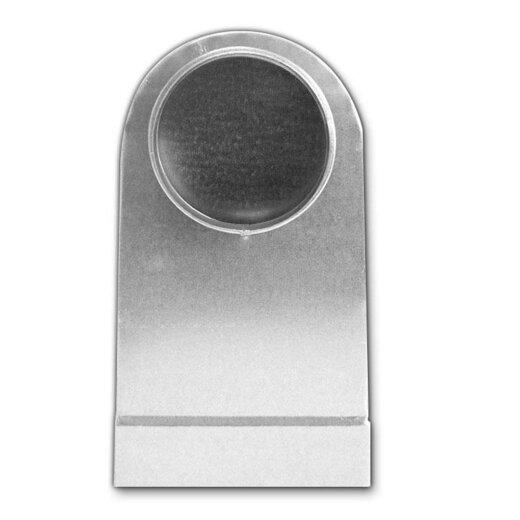 Winkelbogen 90° rechteckig auf rund, symmetrisch, für Lüftungsventil/Formteil