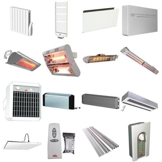 Luftschleier, Infrarotheizung & Elektroheizung
