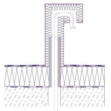 Dachdurchführung/ FDA/ Aluminium