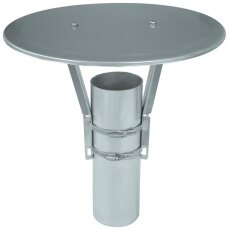 Universal-Regenhut Aluminium/ RHA 350