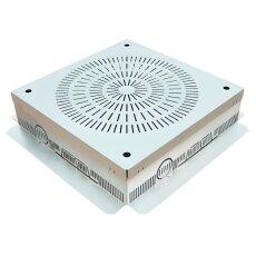 Kontrollschacht Aluminium 400x400mm / Höhe 100mm