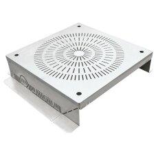 Kontrollschacht Attika Aluminium 400x400mm / 100mm