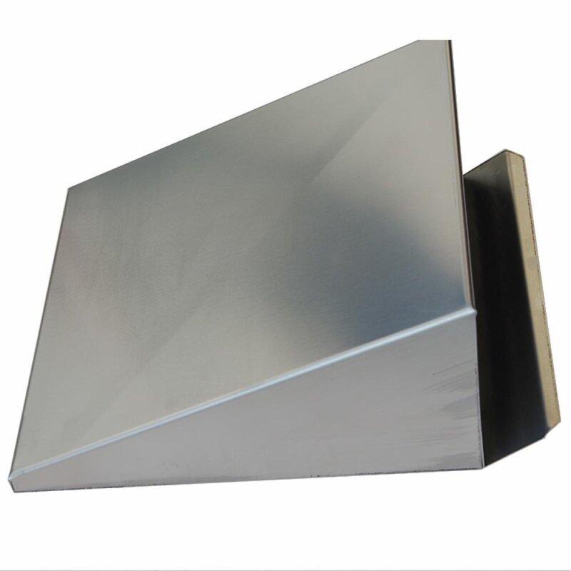 wand au en und fortlufthaube edelstahl 270x250mm anschlussma 205mm. Black Bedroom Furniture Sets. Home Design Ideas