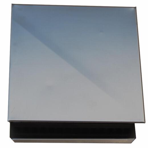 wand au en und fortlufthaube edelstahl 270x250mm anschlussma 20. Black Bedroom Furniture Sets. Home Design Ideas