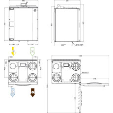 Systemair SAVE VTC 200 L, WRG-Gerät