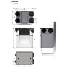 Zehnder Lüftungsgerät Comfoair Q 350 TR