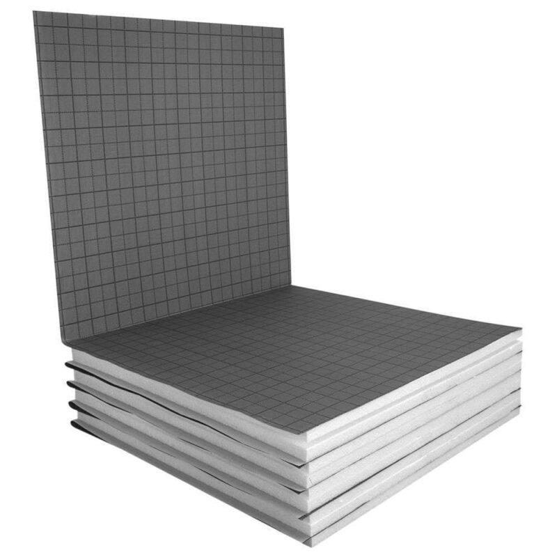 fu bodenheizung tackerplatte als faltplatte 20 2mm wlg 040 10m. Black Bedroom Furniture Sets. Home Design Ideas