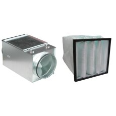 Luftfilterbox MFL-F NW 125 mit M5