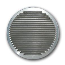 Wetterschutzgitter - Rund Aluminium NW 100