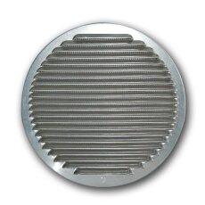 Wetterschutzgitter - Rund Aluminium NW 080