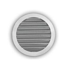 Wetterschutzgitter- Rund NW 150mm aus gegossenem Aluminium