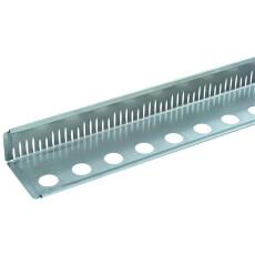 Kiesfangleiste Aluminium 100mm 1,0mm