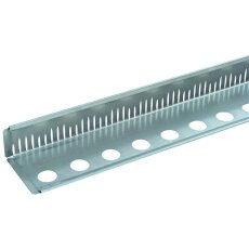 Kiesfangleiste Aluminium 100mm 2,0mm