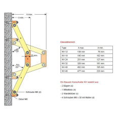 Konsolenhalter KH 12 (2 Stück)