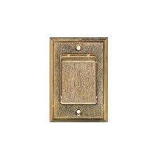 Zentralstaubsauger  Metall-Saugdose bronze von BVC EBS...