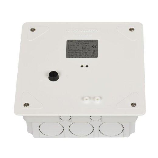 Huber Luftdruckwächter P4-Multi Unterputz für Lüftung mit offenen Feu