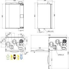 Systemair SAVE VTR 250/B R 0,5 WRG-Gerät