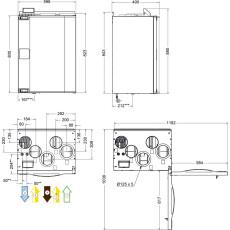 Systemair SAVE VTR 250/B L 0,5 WRG-Gerät