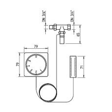 Helios WHST 300 T38 Regelung für Warmwasserheizregister