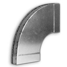 Kanalbogen 90° lang/ horizontal 50 / 100mm