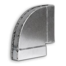 Kanalbogen 90° kurz / horizontal 50 / 150mm