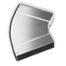Kanalbogen 45° horizontal 50 / 200mm