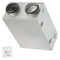 Zentrale Zu- und Abluftanlage mit Wärme- und...