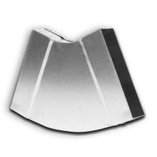 Kanalbogen 30° horizontal 50 / 200mm