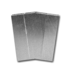 Kanalbogen 15° horizontal 50 / 150mm