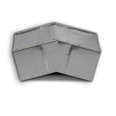 Kanalbogen 15° vertikal 50 / 200mm