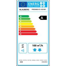 Blauberg Freshbox E1-100 WiFi dezentrales...