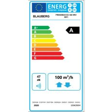 Blauberg Freshbox E2-100 ERV WiFi dezentrales...