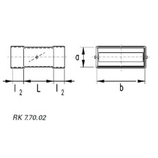 Rückschlagklappe horizontal DN 50 / 150