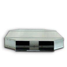 Kanalschalldämpfer mit Kulisse DN 50 / 150  LN=1000mm