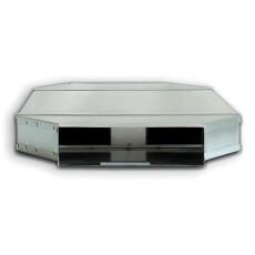 Kanalschalldämpfer mit Auskleidung und Kulisse DN 50 / 100  LN=1000mm (Art.Nr. 425872)