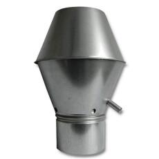 Deflektorhauben für Lüftung NW 125mm