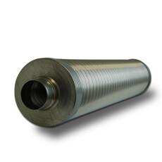 Telefonieschalldämpfer Ø 400 mm Isolierung 50...