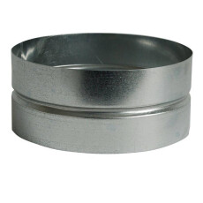 Wickelfalzrohr Muffe Ø 80 mm für Formteile...