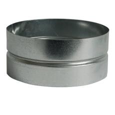 Wickelfalzrohr Muffe Ø 125 mm für Formteile...