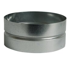 Wickelfalzrohr Muffe Ø 160 mm für Formteile...