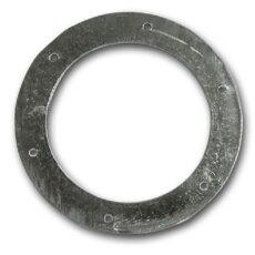 Wickelfalzrohr Flansch Ø 250 mm verzinkt