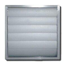Ventilator - Außenverschlußklappe für DN 150mm grau