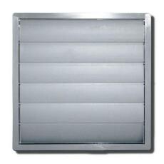 Ventilator - Außenverschlußklappe für DN 400mm grau