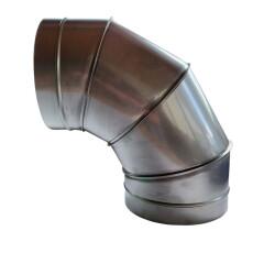 Segmentbogen 90 V2A NW 150mm  ohne Dichtung 1.4301