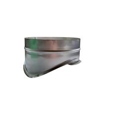 Sattelstutzen V2A 160/125mm